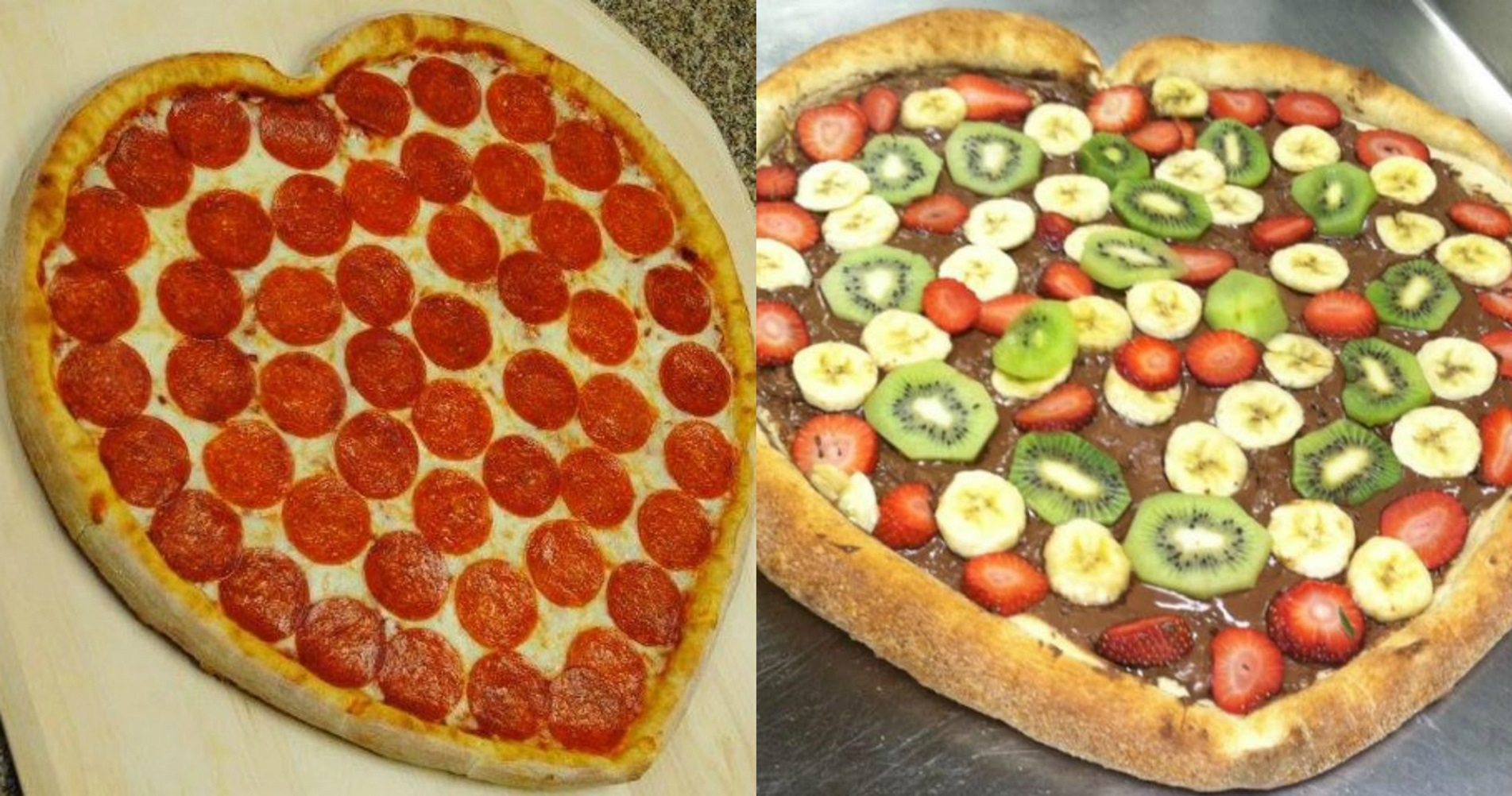 Pizza Made From The Heart…